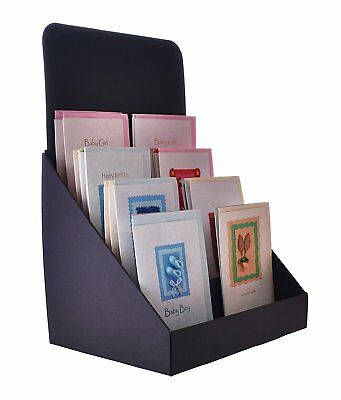 Stand store 12 inch 4 tier cardboard greeting card display stand stand store 12 inch 4 tier cardboard greeting card display stand black m4hsunfo