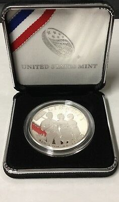 Civil Rights Act of 1964 Silver Dollar Proof Coin Box & COA (US Mint, 2014-P)