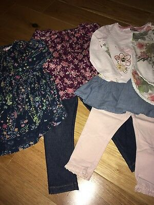 Baby Girls Next Outfit Bundle 18-24 Months 1.5-2 Years