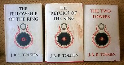 Lord of the rings trilogy J R R Tolkien Set
