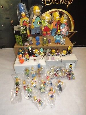 Huge Lot Of Simpsons Vinyl Figures ** Many Are In Packges, Many Rare Items