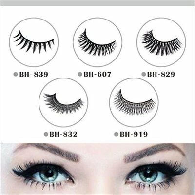 False Eyelashes by Benhouse - Leightweight w/ Taper Tips to Mimic Natural Hair