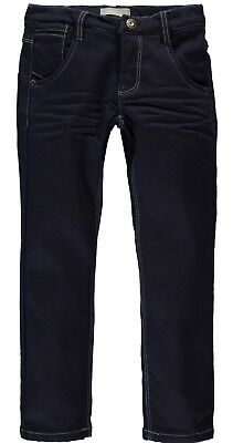 Name it Jungen Thermohose Nitbent Thermojeans warme gefütterte Hose in blau