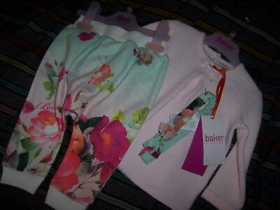 Ted Baker girls top and leggings - new with tags 6-9 months