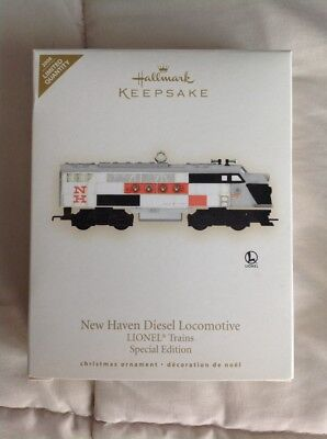 Hallmark Keepsake Lionel Train In Box New Haven Locomotive Special Edition