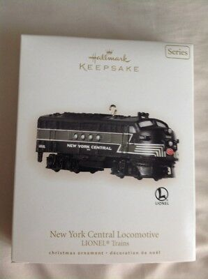 Hallmark Keepsake Lionel Train In Box New York Central Locomotive 2008