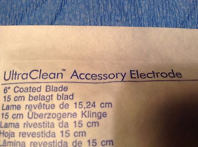 Conmed Ultraclean Accessory Electrode Quantity 25 Six Inch Coated Blade New