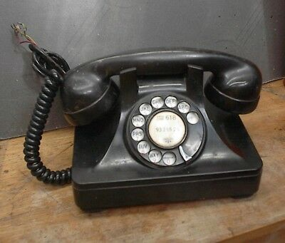 1950s North Electric Desk Rotary Dial Telephone