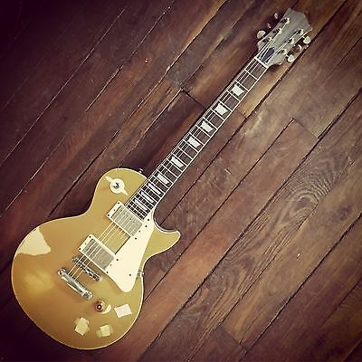 Les Paul Gold top Relic Benedetti Pickups