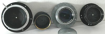 five Lens and Diaphragms with nice aperture blades