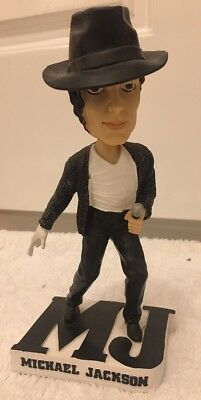 Official Michael Jackson Bobblehead Bobble Head - With Coa - In Box - Genuine