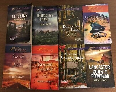 Lot of 29 Love Inspired Suspense Christian Inspirational Romances