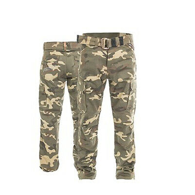 RST Motorcycle 2215 Aramid Cargo Mens Textile Trousers Des Cam