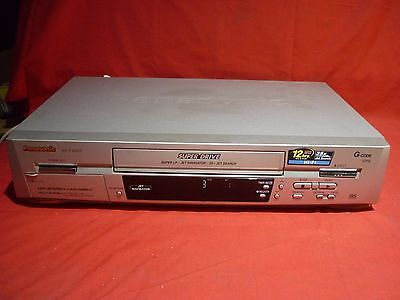 Panasonic Nv-Fj620 Video Vhs Vcr Player No Remote Working Great For Transfer