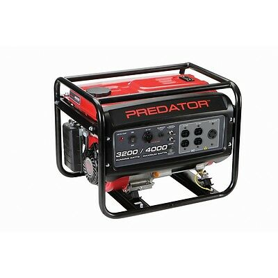 NEW! 212cc, 4000 Watts Max - 3200 Watts Rated Portable Gas Generator - FREE SHIP