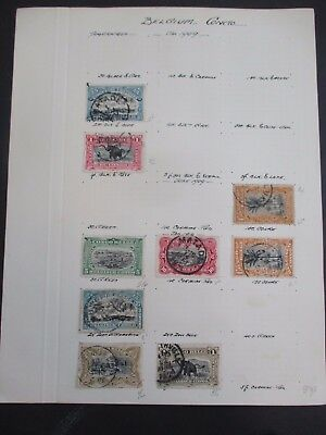 Old World Collection on pages 1800's to 1930's breaking up each page (A200)
