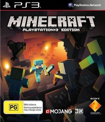 Minecraft PS3 Edition PS3 Game NEW1