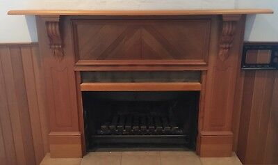 Fireplace Timber Mantle Surround
