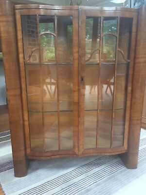 Good condition Deco style display cabinet
