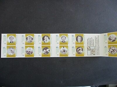 Australian Decimal Stamps - Booklets - Great Mix of Issues (6654)