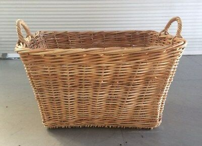 Large Cane Storage Basket - suitable for Toys or other