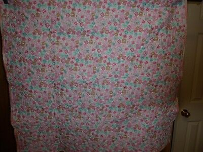 Hand Made Baby Quilts Baby Girl 42 X 45