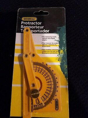 Plastic Protractor,No 29,  General Tools Mfg