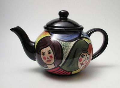 Studio Australia Handpainted Australian Pottery Teapot Dawn Smith & C Tippler