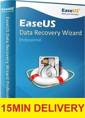 EaseUS v5.8 data recovery Professional Recover Deleted Files FULL VERSION