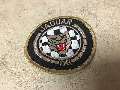 Vtg Jaguar Patch