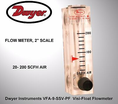 Dwyer Instruments VFA-9-SSV-PF  Visi-Float Flowmeter