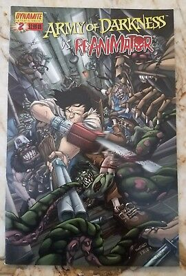 Army Of Darkness Vs Re-Animator (2005) #2 Nm D Variant Dynamite Comic 1