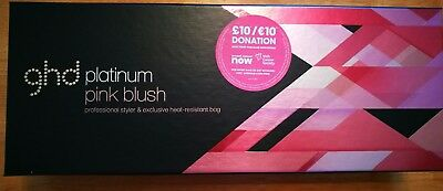 GHD Platinum Pink Blush Brand New never used (read description)