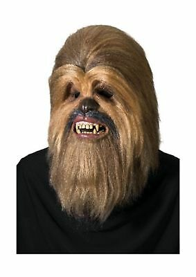 Rubies Costume Star Wars Supreme Edition Chewbacca Mask Brown One Size