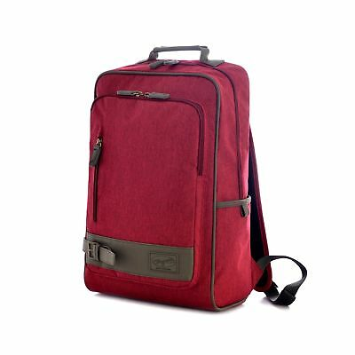 Olympia Apollo 18-Inch Backpack RD Maroon Red One Size