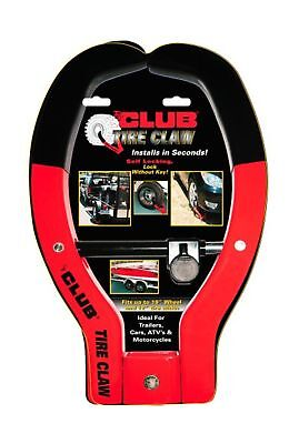 "Winner The Club No.491 Tire Claw Security Device 12"" Tire Width"