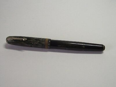 Vintage Parker Vacumatic  Fountain pen striped 14k Nib