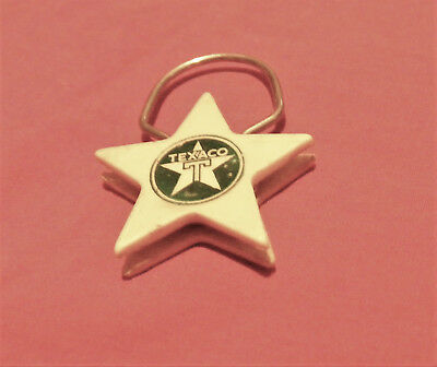 Vintage Advertising Keychain Texaco