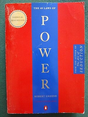 The 48 Laws of Power by Robert Greene  (1998 Paperback)