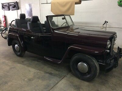 1949 Willys Custom  1949 WILLYS JEEPSTER COMPLETELY CUSTOMIZED BEACH CRUISER, 289 MUSTANG V-8, FUN !