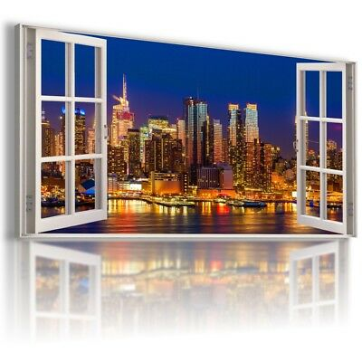 ITALY ROME PARADISE HOLIDAY 3D Window Canvas Wall Art Picture  W337 MATAGA .