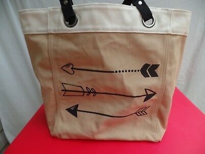 Shoulder Canvas Tote Bag By Thirty-One Products Utility Shopping Travel Pre-Own