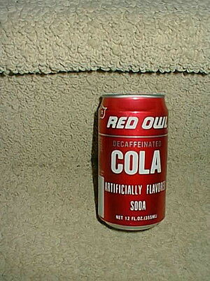 Vintage Red Owl Grocery Food Store Cola Soda Pop Can Very Good Condition