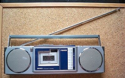 FISHER PH-M88 - STEREO RADIO mit MICROCASSETTE RECORDER - Funktionsfähig!