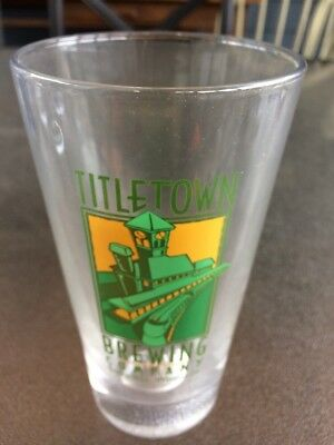 Titletown Brewing Company Glass  Green Bay