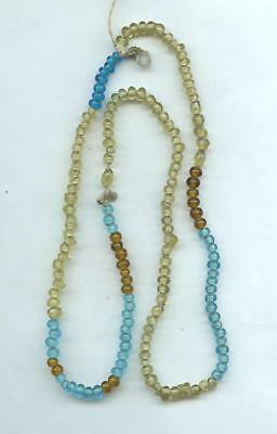 Indian Artifacts- Nice Early 1800's Fur Trade Bead Necklace