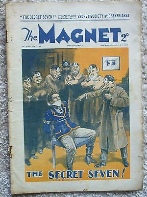 """The Magnet (Billy Bunter) - """"The Secret Seven""""  Single Issue 1934"""