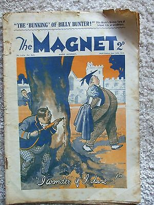 """The Magnet (Billy Bunter) - """"The Bunking of Billy Bunter""""  Single Issue 1934"""