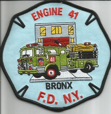*CLEARANCE*  N.Y.C.  Engine-41 <Bronx> fire patch