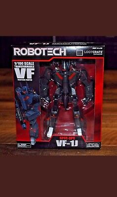 Robotech VF-1J Transformable Veritech Fighter LOOTCRATE Mint Cond. (Used Once)